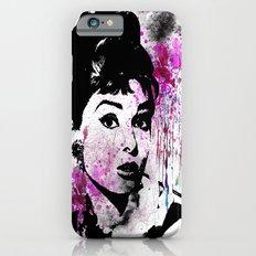 Audrey Hepburn - Watercolor Slim Case iPhone 6s