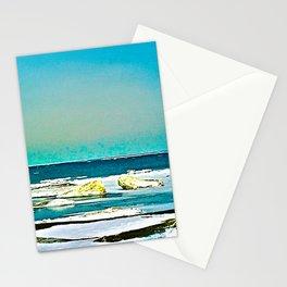 Lake Huron Winter Stationery Cards