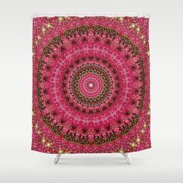 Pink Flower in Greece 2 Shower Curtain