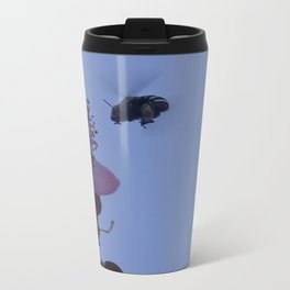 Be like a bee Metal Travel Mug