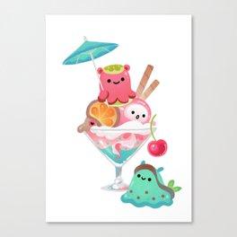 Mollusk cocktail Canvas Print