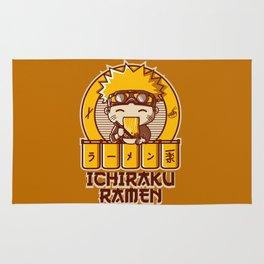 Ichiraku Ramen Naruto Rug