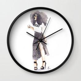 NaturalNERD Wall Clock