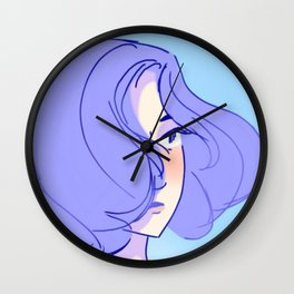 touka in summer Wall Clock