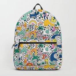 Safari Animals Backpack