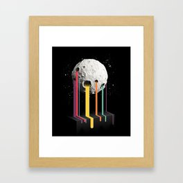 RainbowMoon Framed Art Print
