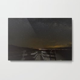 Leading Trail Metal Print