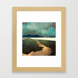 Distant Land Framed Art Print