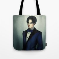 levi Tote Bags featuring Levi Ackerman by ishali