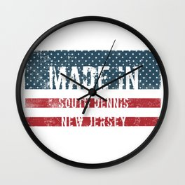 Made in South Dennis, New Jersey Wall Clock