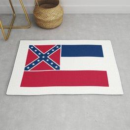 Mississippi State Flag Rug