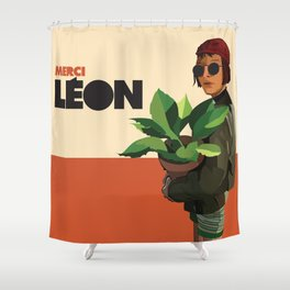 Mathilda, Leon the Professional Shower Curtain
