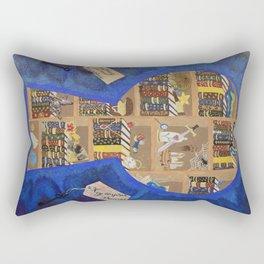 My Dream Library Rectangular Pillow