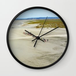 Pilgrims Wall Clock