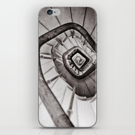 Wooden stairs iPhone Skin