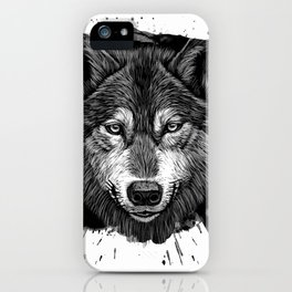 Wolf 2 iPhone Case