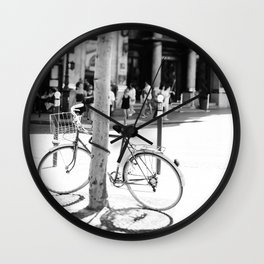 Paris Bicycle Wall Clock