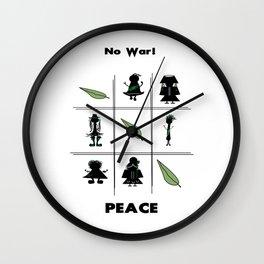 Universal Peace Wall Clock