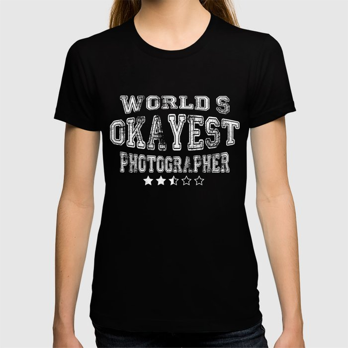 Creative Photographer Design T-shirt
