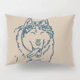 Happy Husky Pillow Sham