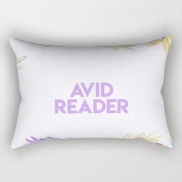 Avid Reader Rectangular Pillow