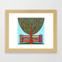 Gilded Tree of Life Framed Art Print