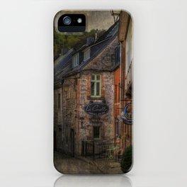 Old European village iPhone Case