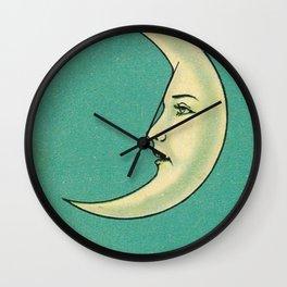 La Luna Card Wall Clock