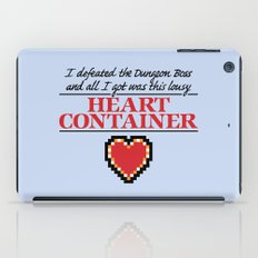 Lousy Heart Container iPad Case