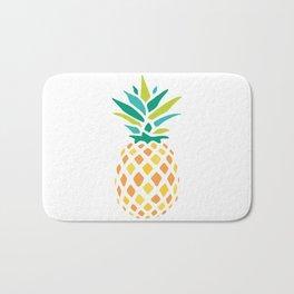 Summer Pineapple Bath Mat