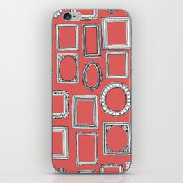 picture frames coral iPhone Skin