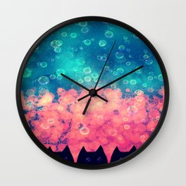 cats-446 Wall Clock