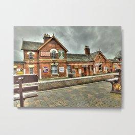 Bewdley Heritage Railway Station Metal Print