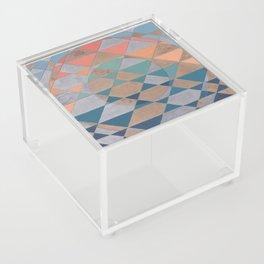 Circles and Triangles Acrylic Box