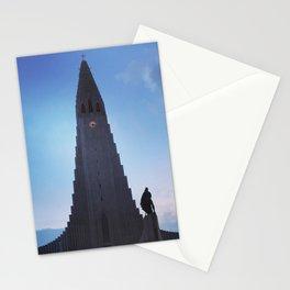 Hallgrímskirkja Lutheran Church, Reykjavík, Iceland Stationery Cards