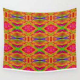 Orange Jewels Wall Tapestry