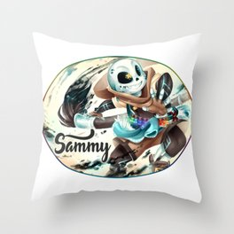 Sans Skeleton Sam undertale Throw Pillow