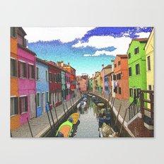 Village colors Canvas Print