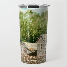 High Cotton–Watercolor Travel Mug
