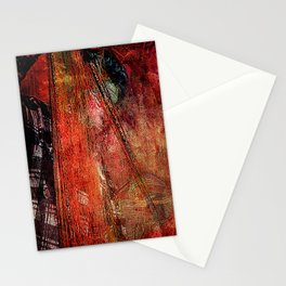 Sicilian Fisherman    (This Artwork is a collaboration with the talented artist Agostino Lo coco) Stationery Cards