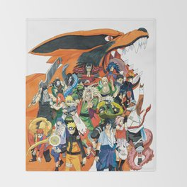 Naruto shippuden Throw Blanket