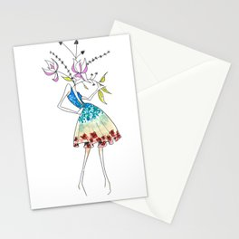 Florals for Spring | @makemeunison Hand Drawn Art Stationery Cards