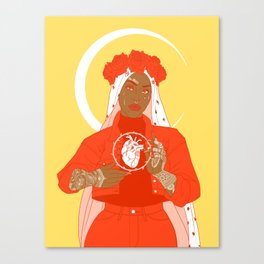 patron saint Canvas Print