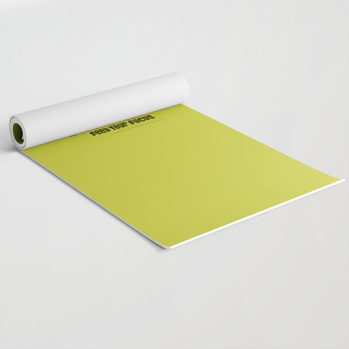 Feed Your Focus Yoga Mat