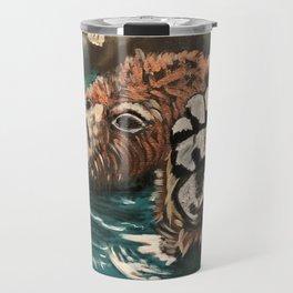 Chill Bear by Noelle's Art Loft Travel Mug