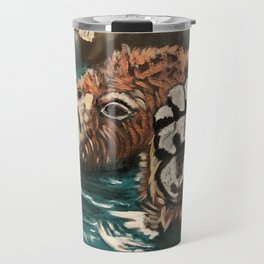 Chill Bear by Noelle's Art Loft Travel Mug