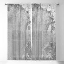 Abstract XVI Sheer Curtain