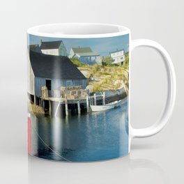 The Boat Harbour Mist in Peggy's Cove Coffee Mug