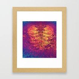 Arboreal Vessels - Heart Breath Framed Art Print