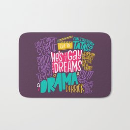 Derrick Quote Bonanza (HE105) Bath Mat